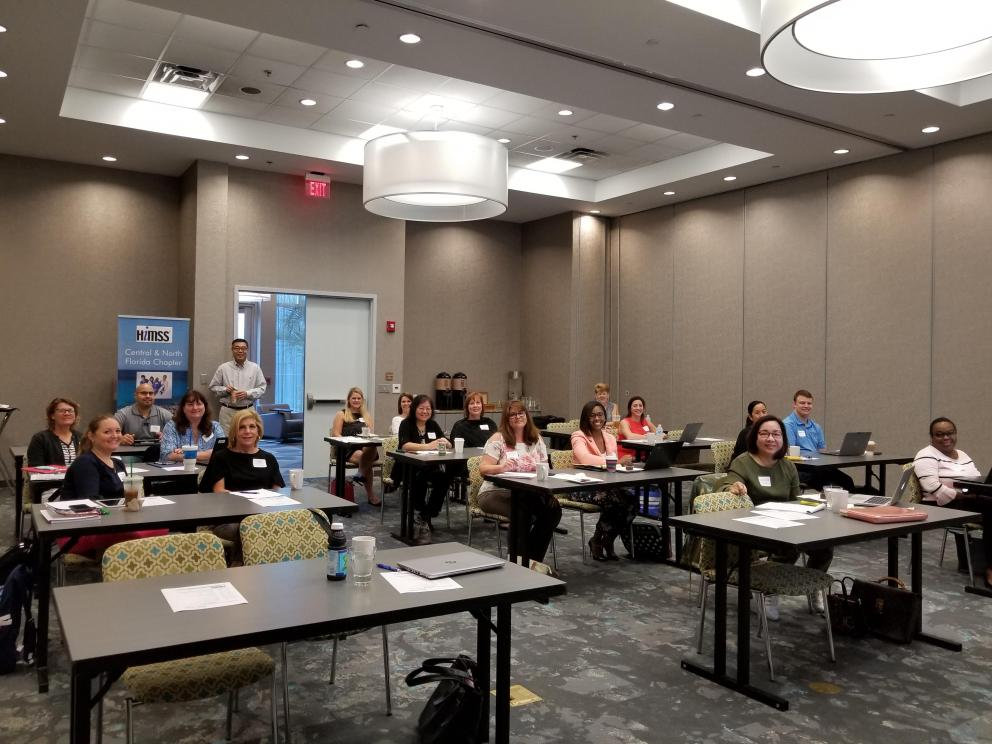 CPHIMS/CAHIMS Review Course Attendees 2018